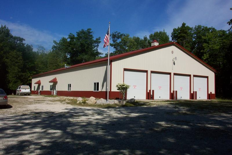 Bois Blanc Fire Barn and Law Office